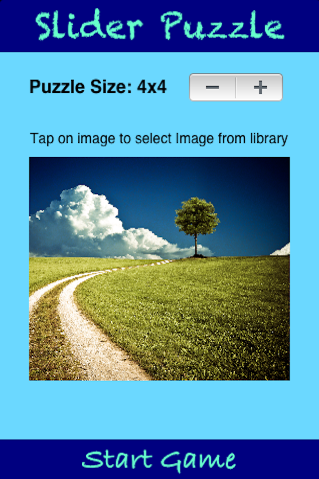 Screenshot O3 Slider Puzzle